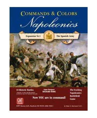 Command and Colors - Napoleonics Expansion 1 - Spanish Army