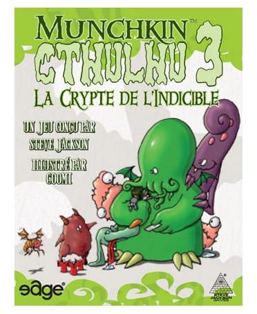 Munchkin Cthulhu 3, la Crypte de l'Indicible