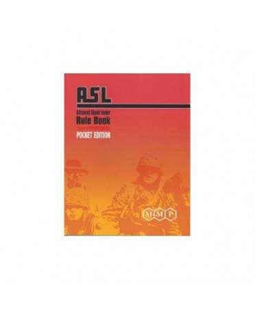 Advanced squad leader Rule book pocket edition (2nd edition)
