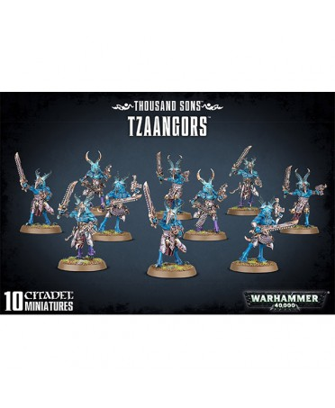 Thousand Sons : Tzaangors