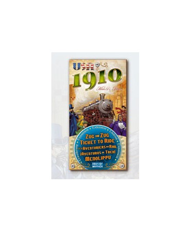 Aventuriers du Rail : USA 1910