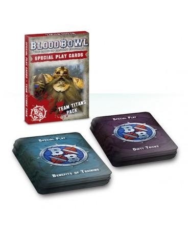 Blood Bowl : Cartes spéciales pack Titans