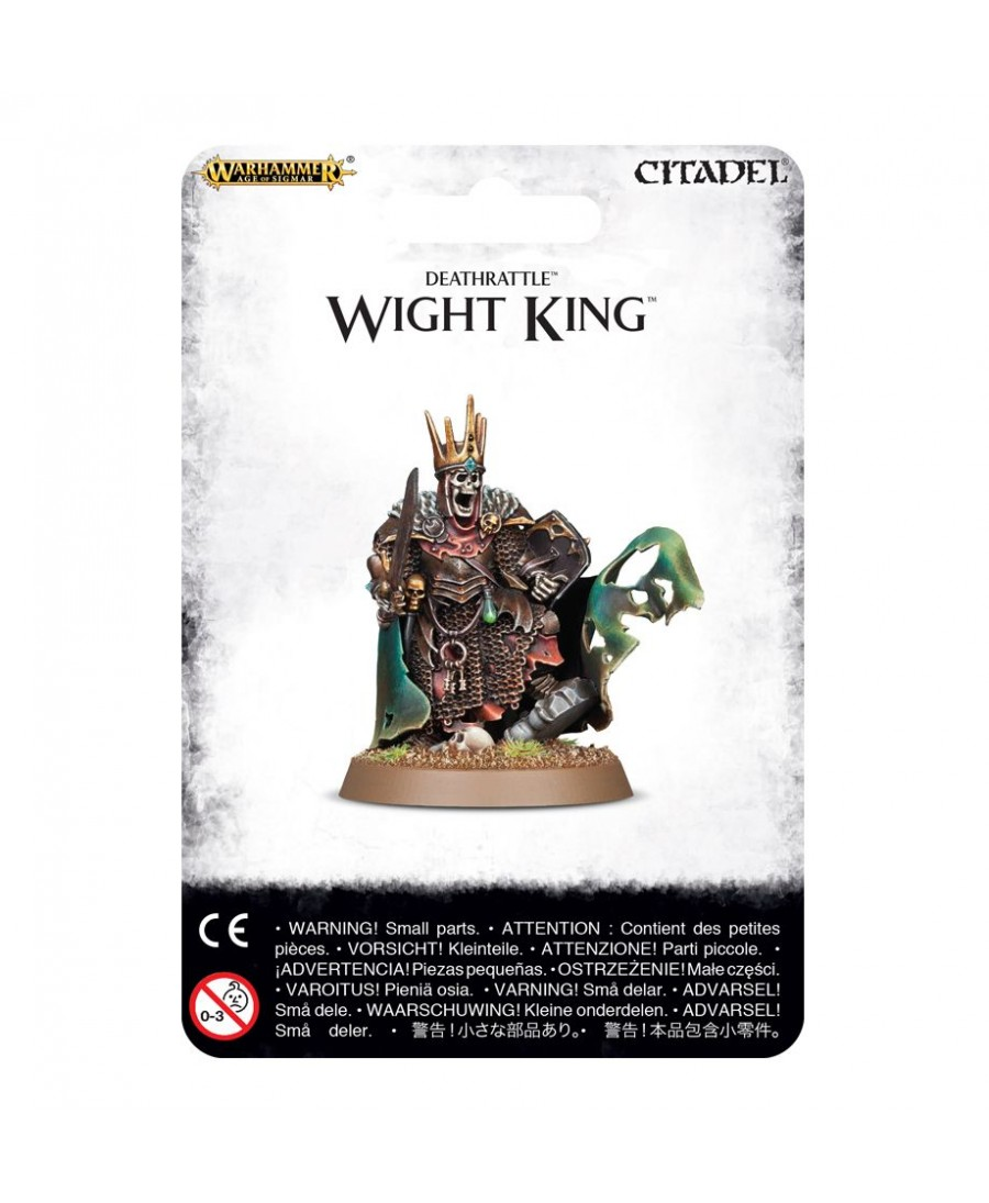 Deathrattle : Wight King | Boutique Starplayer | Warhammer Age Of Sigmar