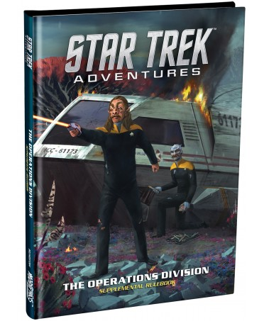 Star Trek Adventures : Operations Division Supplementary Rulebook (VO) | Boutique Starplayer
