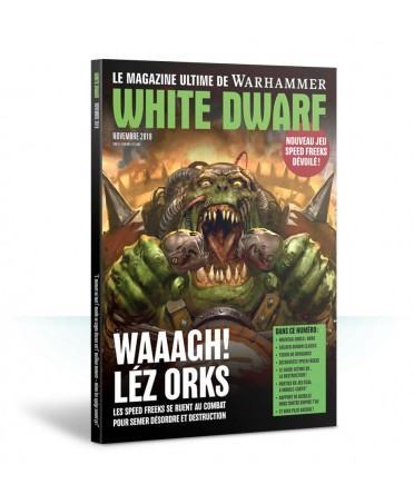 White Dwarf Novembre 2018 (VF) | Boutique Starplayer