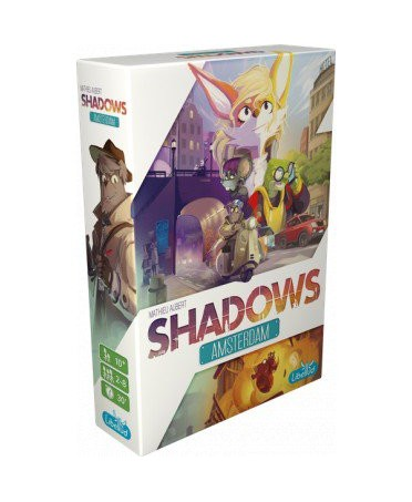 Shadows : Amsterdam | Jeux de Société | Boutique Starplayer