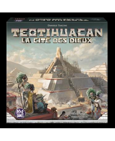 Teotihuacan : La Cité des Dieux   Boutique Starplayer   Jeux de Société