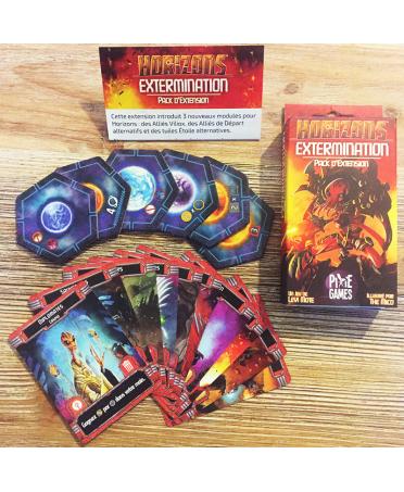 Horizons : Extermination   Magasin Starplayer   Jeux de Société