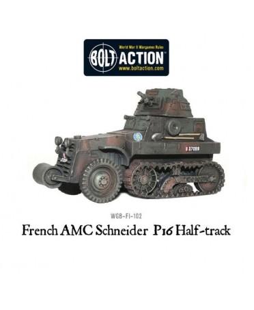 Bolt Action : French AMC Schneider P16 Half-track | Boutique de Jeux de Figurines Historiques
