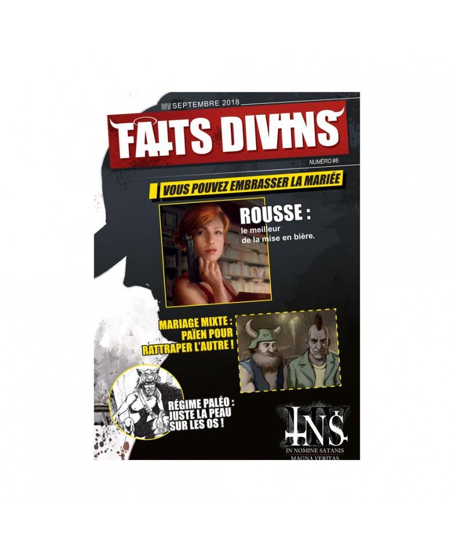 INS-MV : Génération Perdue - Faits Divins n°6 | Boutique Jeu de Rôle Paris Starplayer