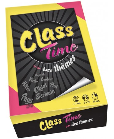 Class Time : Des Thèmes | Boutique Starplayer