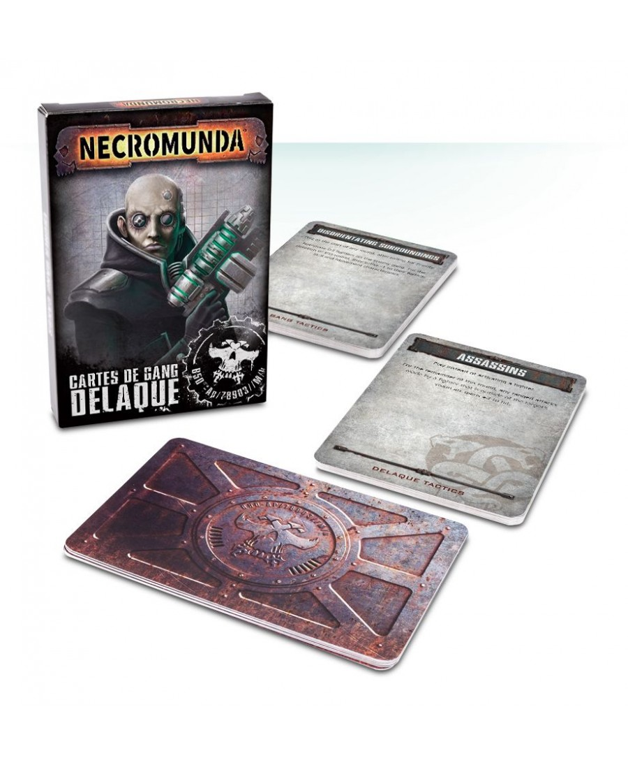 Necromunda : Cartes de gang Delaque | Boutique Starplayer