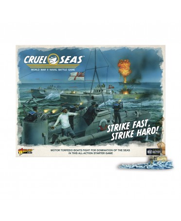 "Cruel Seas : Starter Set ""Strike Fast, Strike Hard !"" (VO) | Boutique Starplayer"