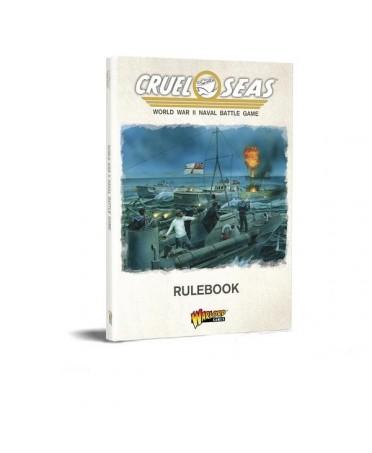 Cruel Seas : Rulebook (VO) Softback | Boutique Starplayer