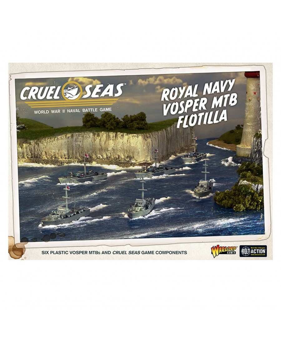 Cruel Seas : Royal Navy Vosper MTB Flotilla | Boutique Starplayer