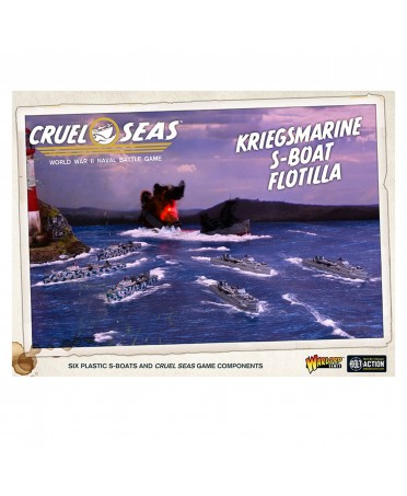 Cruel Seas : Kriegsmarine E-boat Flotilla | Boutique Starplayer