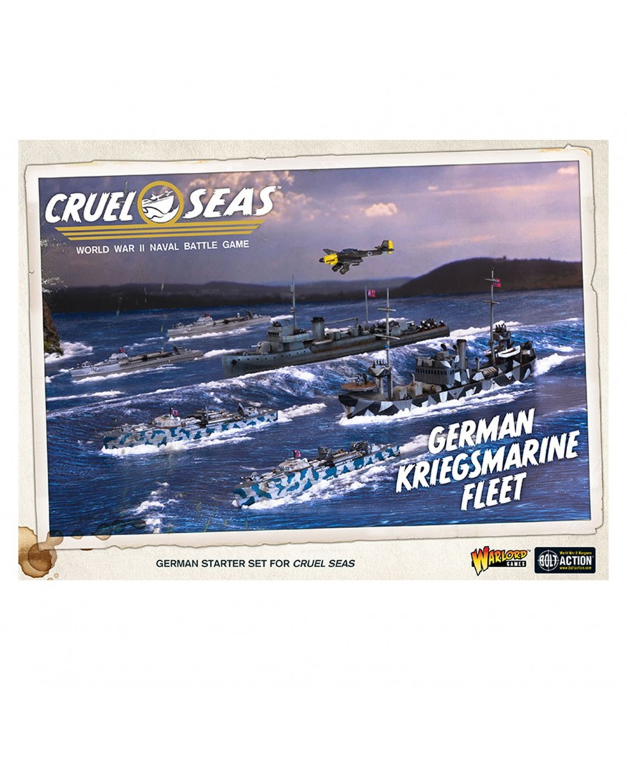 Cruel Seas : German Kriegsmarine Fleet | Boutique Starplayer