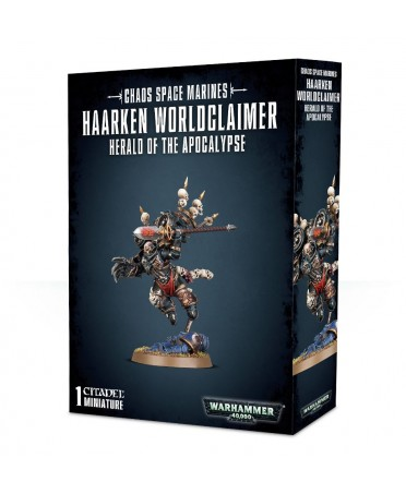 Chaos Space Marines : Haarken Worldclaimer | Boutique Starplayer