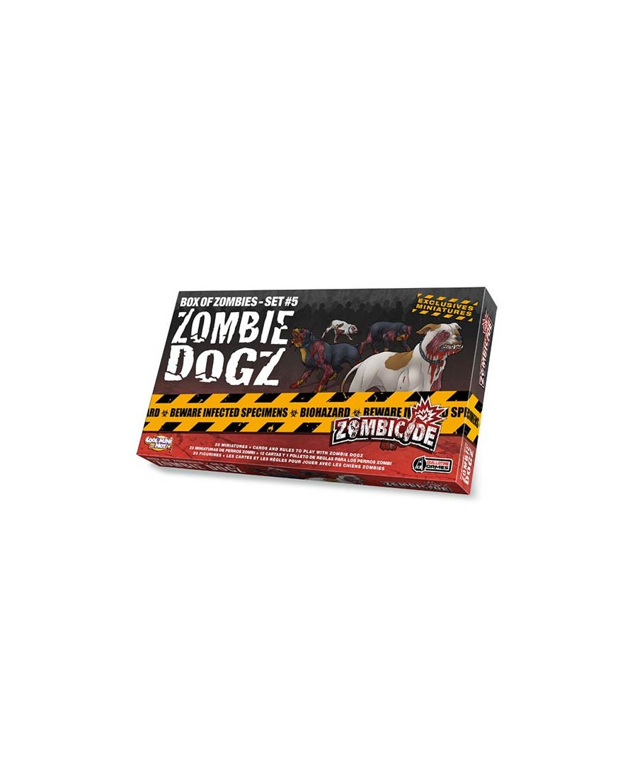 Zombicide : Zombie Dogz | Boutique Starplayer