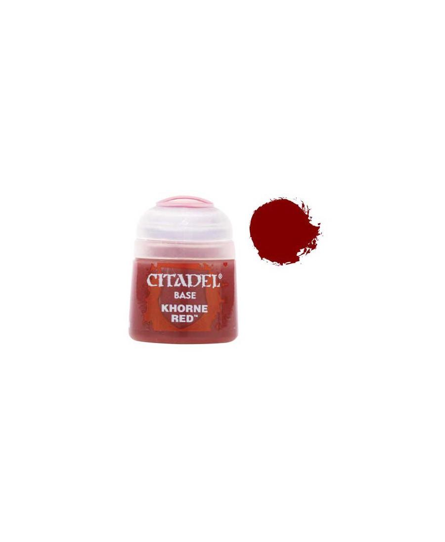 Citadel Base - Khorne Red