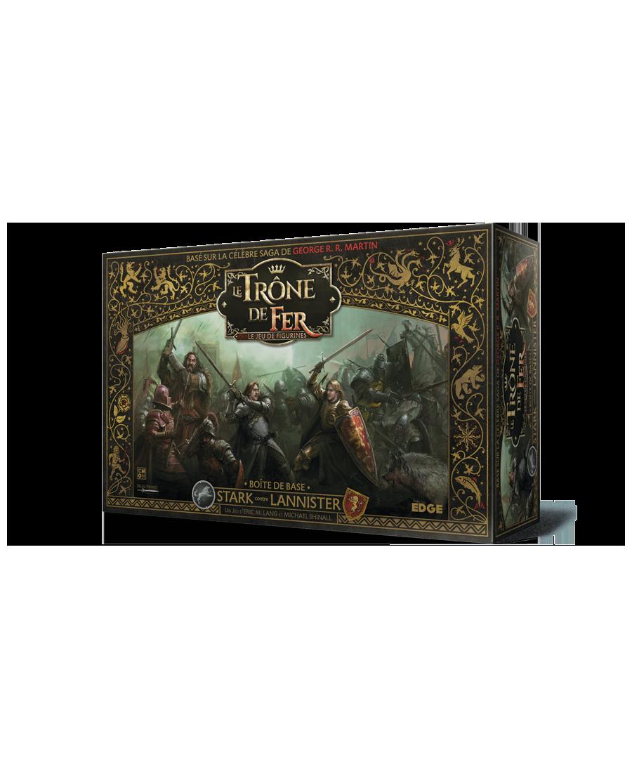 Le Trône de Fer JDF : Boîte de base Stark contre Lannister | Boutique Starplayer