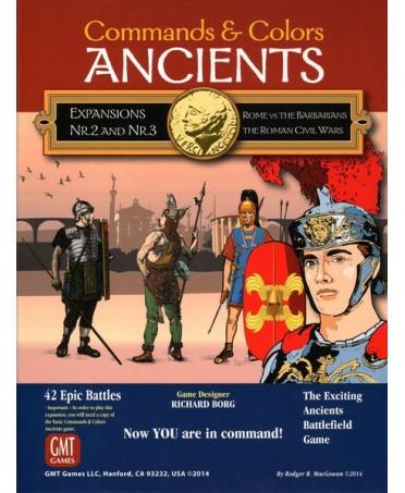 Commands & Colors : Ancients - Expansions 2 & 3    Boutique Starplayer
