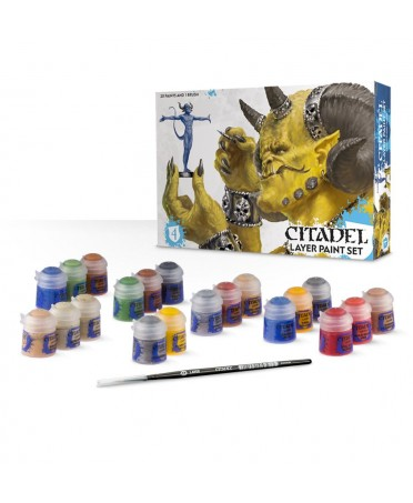 Coffret de Peinture : Citadel Layer Paint Set | Boutique Starplayer