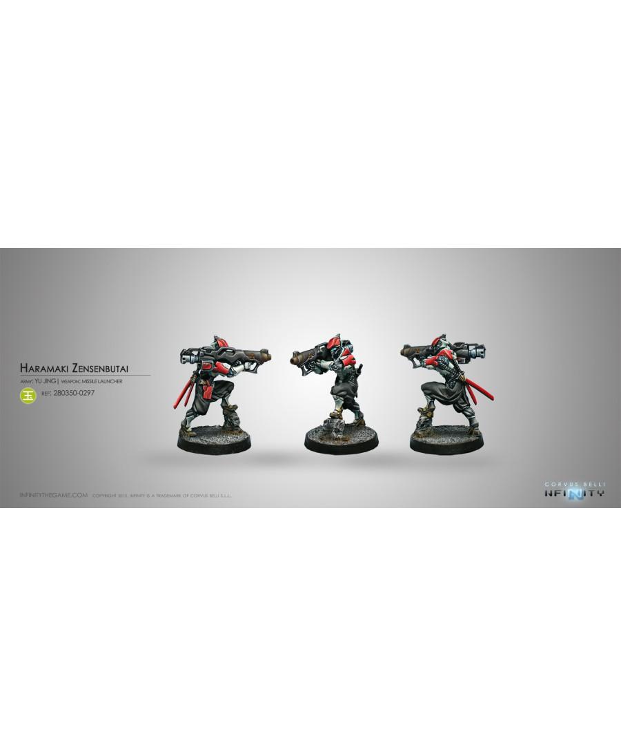 Yu Jing : Haramaki Zensenbutai (Missile Launcher) | Jeu de Figurines Infinity | Boutique Starplayer