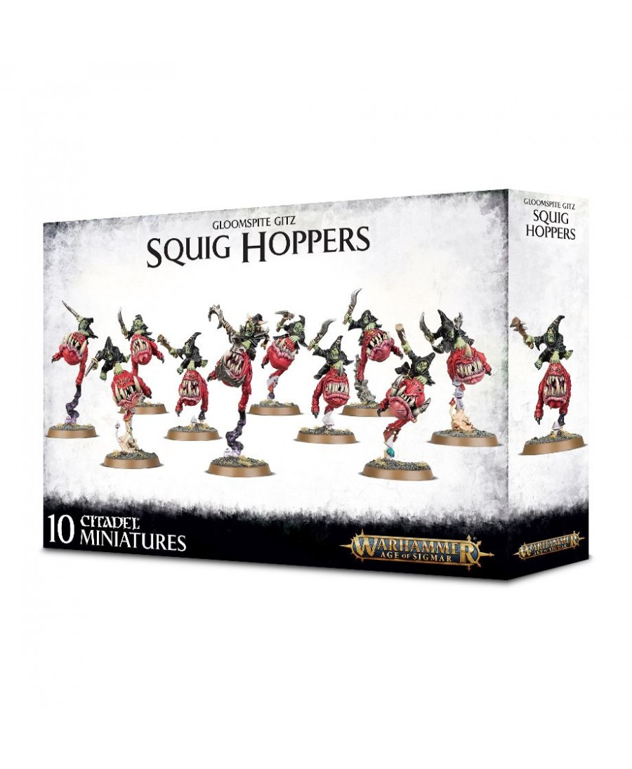 Gloomspite Gitz : Squig Hoppers | Boutique de Jeu de Figurines Starplayer
