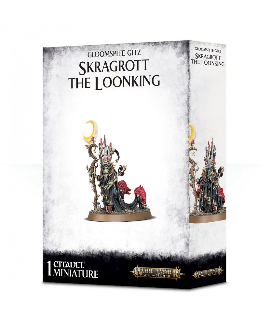 Gloomspite Gitz : Skragrott the Loonking | Boutique Starplayer