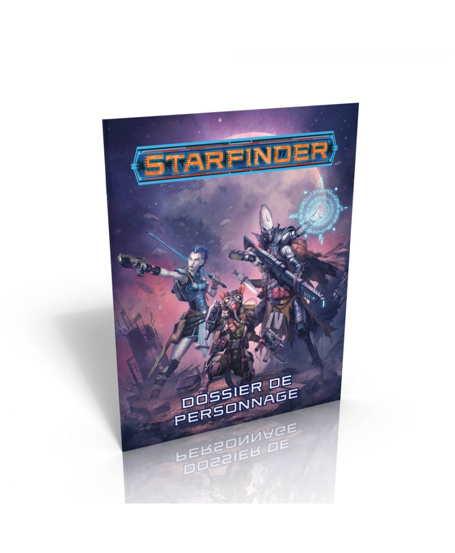 Starfinder : Dossier de Personnage | Boutique Starplayer | Jeu de Rôle Science Fiction