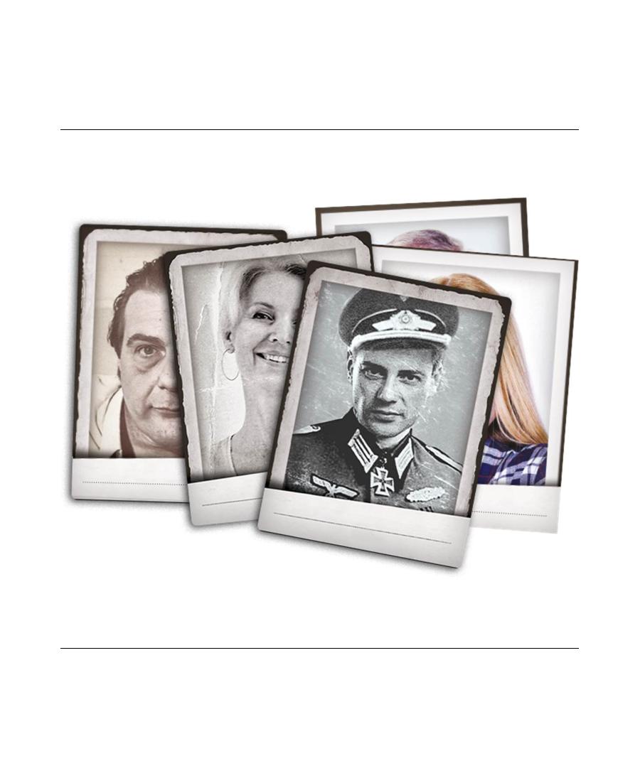 Detective : Photos Polaroid de Personnages | Boutique Starplayer