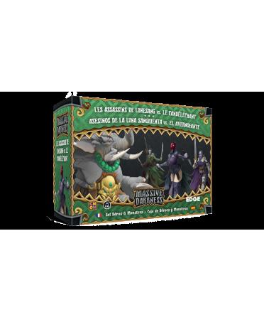 Massive Darkness : Les Assassins de Lunesang vs Le Pandéléphant | Boutique Starplayer