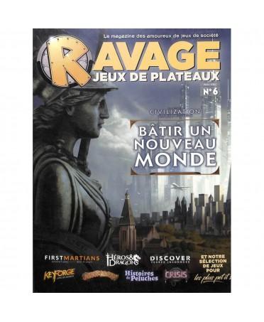 Ravage Hors Série N°6 - Jeux de Plateau | Boutique Starplayer
