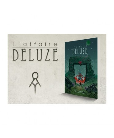 Cthulhu Hack : Pack L'Affaire Deluze (VF) | Boutique Starplayer