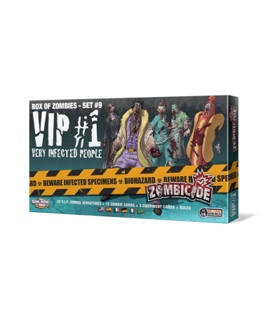 Zombicide : Very Infected People #1 | Boutique Starplayer