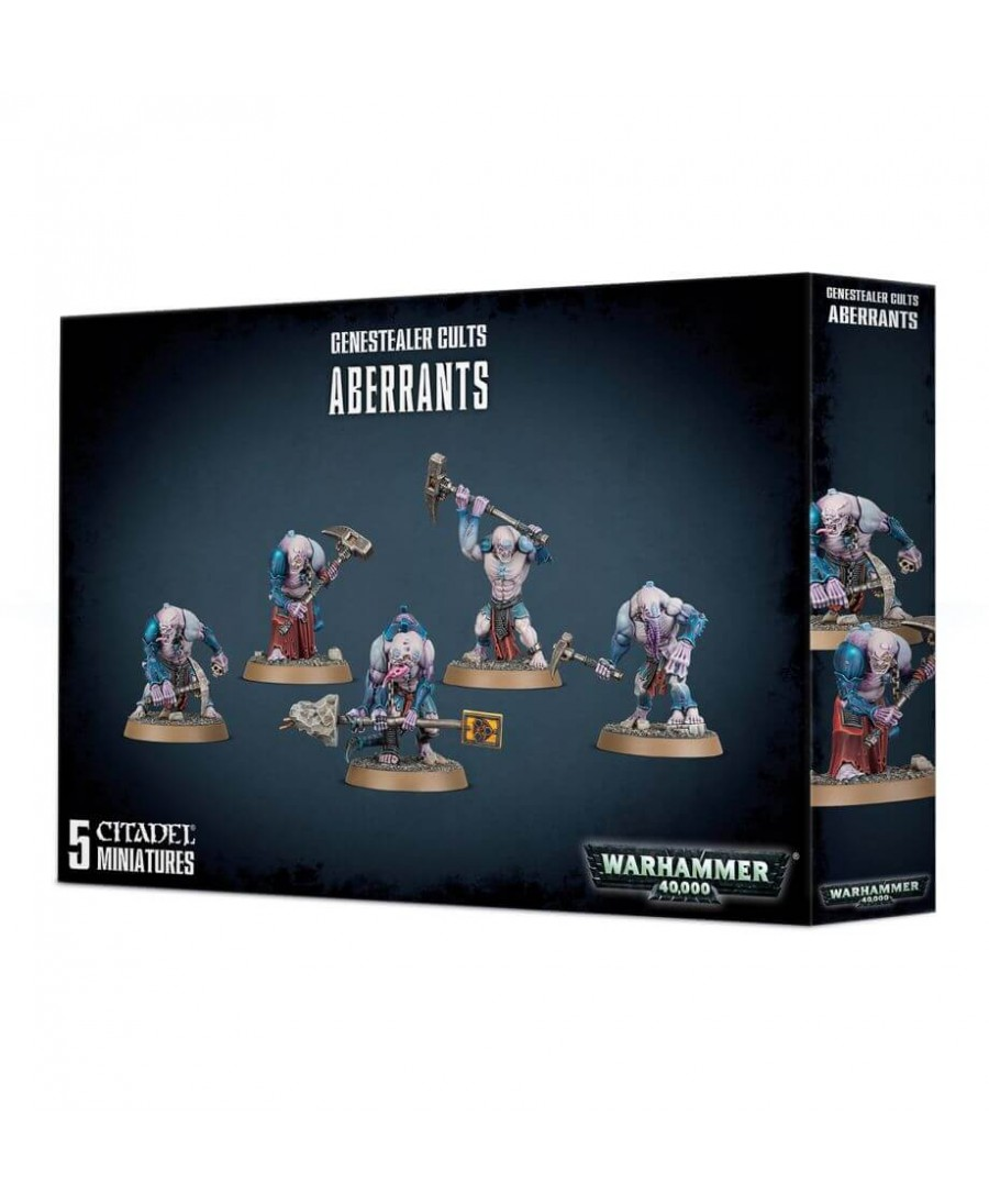 Genestealer Cults : Aberrants | Boutique Starplayer | Jeu de Figurines