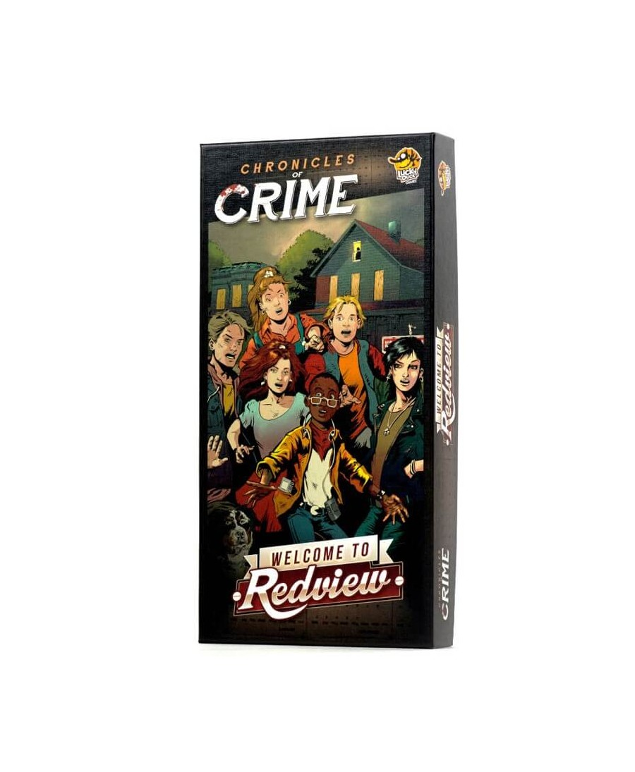 Chronicles Of Crime : Welcome To Redview | Boutique Starplayer | Jeu de Société