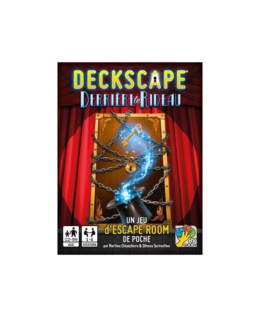 Deckscape : Derrière Le Rideau | Boutique Starplayer | Jeu de Société