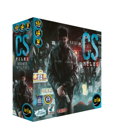 CS Files : Agents Infiltrés (VF-2019) | Boutique Starplayer | Jeu de Société