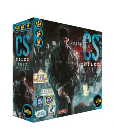 CS Files : Agents Infiltrés (VF-2019) | Boutique Starplayer | Jeu de Société