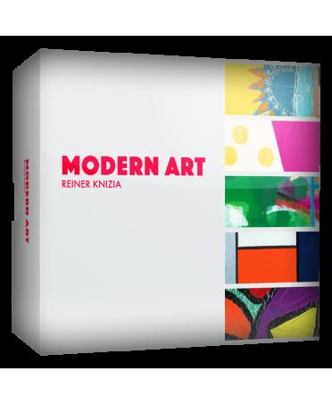 Modern Art (2018 - VF)   Boutique Starplayer    Jeu de Société