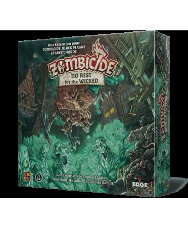 Zombicide : No Rest for the Wicked   Boutique Starplayer   Jeu de Société