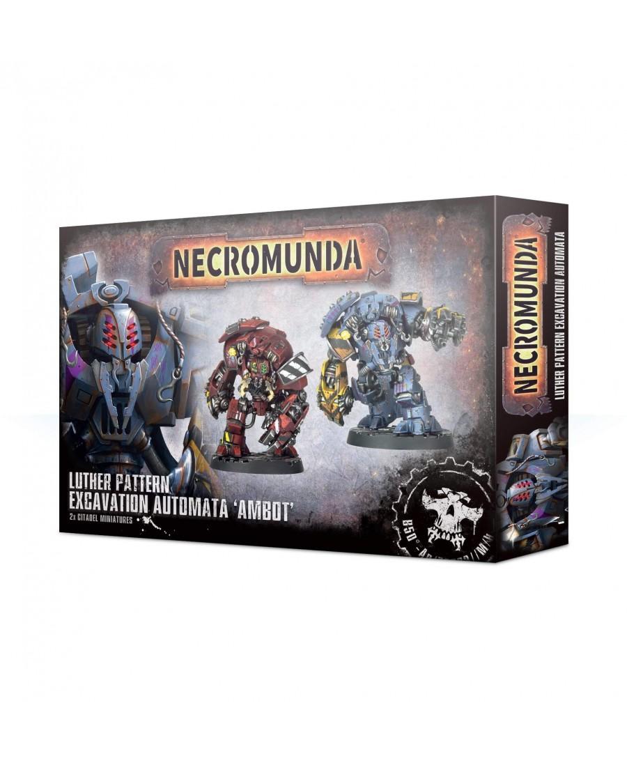 "Necromunda : Automate d'Excavation modèle Luther ""Ambot"" | Starplayer"