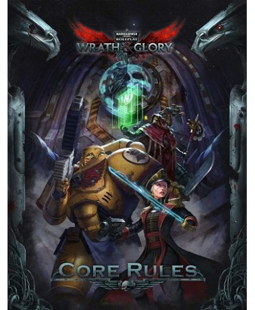 Wrath & Glory : Core Rulebook (VO) | Boutique Starplayer | Jeu de Rôle
