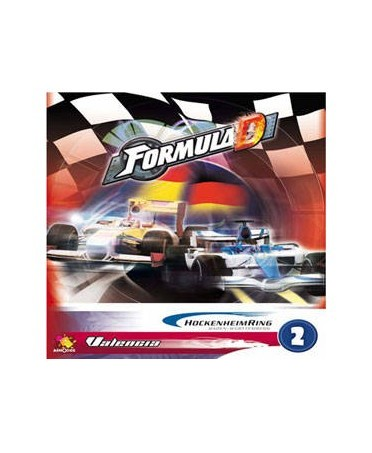 Formula D : Pack de Circuits n°2 - Hockenheim / Valencia | Starplayer | Jeu de Société