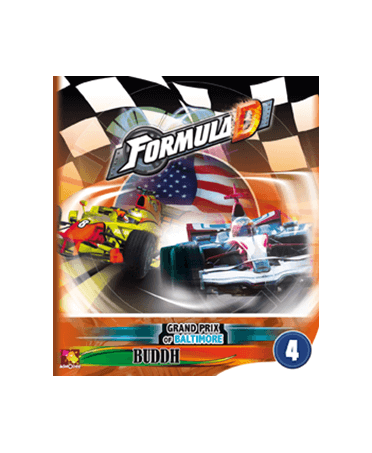 Formula D : Pack de Circuits n°4 - Baltimore / Buddh | Starplayer | Jeu de Société