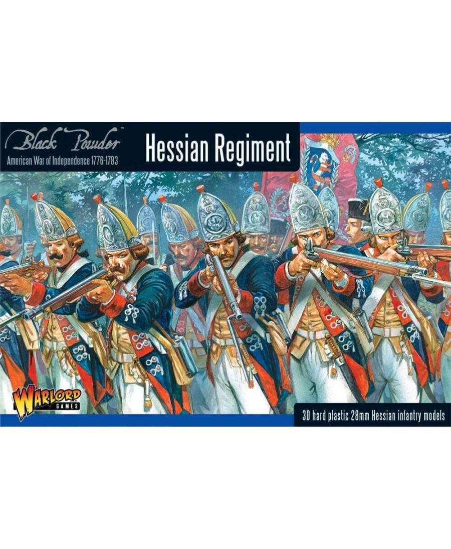 Black Powder : Rebellion! - Hessian regiment | Boutique Starplayer | Jeu de Figurines Historique