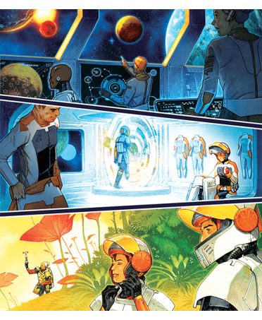 Space Gate Odyssey (ML) | Boutique Starplayer | Jeu de Société