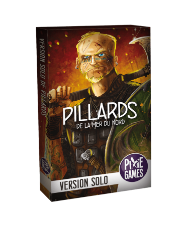 Pillards de la Mer du Nord : Version Solo | Boutique Starplayer | Jeu de Société